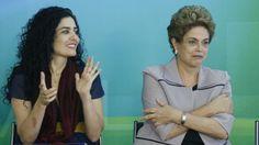 RS Notícias: Dilma manifesta apoio à atriz Letícia Sabatella, x...
