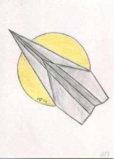 Avión de Papel. My Drawings, Photo And Video, Instagram, Paper Planes, Paper Envelopes, Drawings