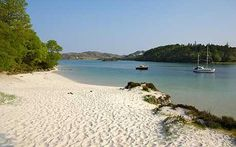 The silver sands of Morar and Arisaig so beautiful