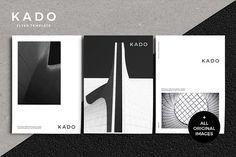 K A D O Flyer Template by Kovy on @creativemarket