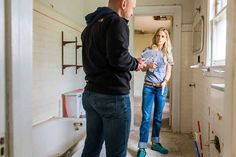When renovating: If it can kill you, you should probably hire it out. -- That's Nicole Curtis' expert advice, anyway. Even for seasoned DIYers, some house-related renovations (like heavy electrical work, roofing, etc.) should be done by professionals. Ripping up a floor or replacing tile? DIY your heart out.