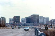 Arlington - Rosslyn from Key Bridge (1970) | Flickr - Photo Sharing!