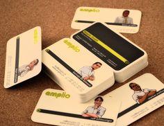 Amplio Cards - Business Cards - Creattica