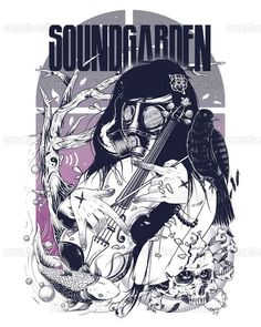 Soundgarden Poster by TKS lowskill on CreativeAllies.com