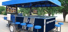 need for cowboy tailgate parties