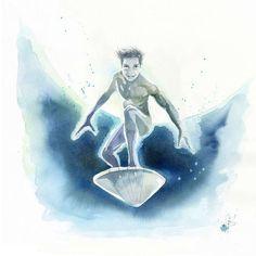 Blule - Robin - a.k.a The Stellar Silver Surfer
