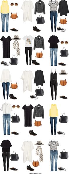 Packing List: 14 days in Copenhagen,Denmark in June. What to Wear: Outfit Options- livelovesara
