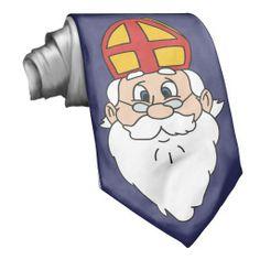 Sinterklaas Stropdas Neckties