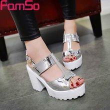 Envío libre 2016 de Bota Zapatos de Mujer Gladiador Sandalias Zapatos Rojos de La Boda Bombas Tacones Altos Plataformas Sandalias de Plata Bombas PS2263(China (Mainland))