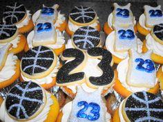 Bling Basketball cookies3 Basketball Cookies, School Spirit, Cousins, Baked Goods, Bakery, Artisan, Bling, Desserts, Tailgate Desserts