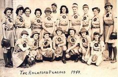 The Rockford Peaches 1944