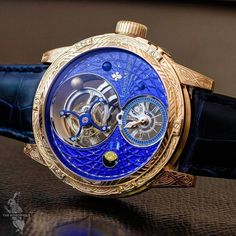 """882 Likes, 5 Comments - Swiss Watch GangⓂ (@swisswatchgang) on Instagram: """"Perfection by Louis Moinet - Space Mystery is the world's first """"satellite tourbillon®"""": the cage…"""""""
