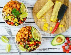 Shrimp Burrito Spicy meal