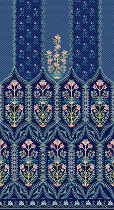 Textile Pattern Design, Surface Pattern Design, Textile Patterns, Textile Prints, Pattern Art, Fabric Design, Print Design, Print Patterns, Motif Design