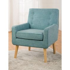 Milania Tufted Arm Chair