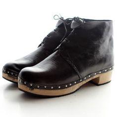 Black Clog Boots