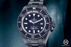 Rolex Deepsea Blue - Dream or reality? Dream Watches, Sport Watches, Luxury Watches, Rolex Watches, Watches For Men, Elegant Watches, Beautiful Watches, Gentleman Watch, Monochrome Watches