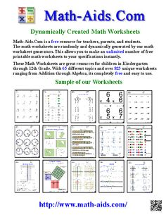 (Used Find or create math worksheets - FREE! ALSO - able to print off worksheets from many different countries- excellent tool for our country studies! Math Sites, Math Resources, Math Activities, Free Printable Math Worksheets, Phonics Worksheets, Free Printables, Homeschool Math, Homeschooling, 3rd Grade Math