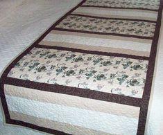 Fit for a King (or Queen) Bed Runner Pattern AV-139 (easy, houseware)