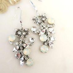 Wedding Earrings, Wedding Plugs, Bridal Earrings