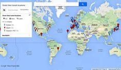 Colección de estaciones, aeropuertos y museos para ver en Street View Publicado por: Juan Luis Bermúdez