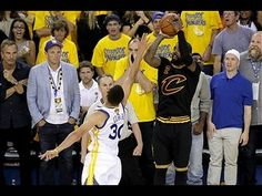 """""""The shot"""" Kyrie Irving Drains the Clutch Three in Game 7 of the 2016 NBA Finals"""