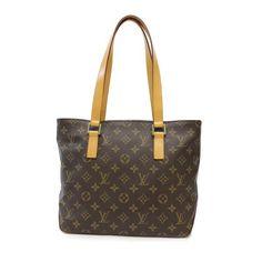 Louis Vuitton Cabas Piano Monogram Shoulder bags Brown Canvas M51148