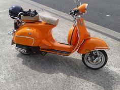 A nice looking Neco Abruzzi in orange. Loving the GB on the leg shield, A nice touch.