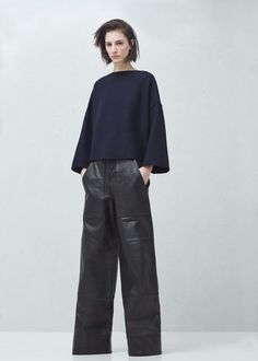 Premium - top lana -  Mujer | MANGO