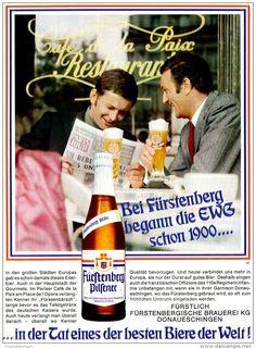 Original-Werbung/ Anzeige 1969 - FÜRSTENBERG PILSENER - ca. 180 x 240 mm