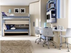 Habitación para jóvenes con camas superpuestas 906   Habitación - Doimo CityLine