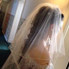 #Brautfrisur mit #Schleier made by #LaDolceVita