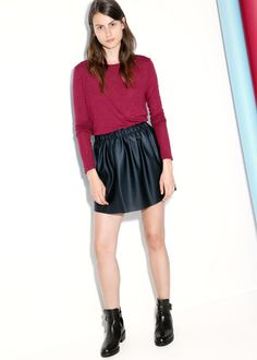 Another 'leather' skirt - mng