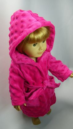 Robe in hot pink by CindyrellasCloset on Etsy, $16.00
