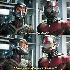 Oof the trailer looks good! And It takes two in the background is just so perfect Of course after is hard to hype but Marvel always manages to I really cant wait to see this duo on the big screen Ant-man or the Wasp? Marvel Memes, Marvel Dc Comics, Marvel Avengers, Dr Octopus, Scott Lang, Family Movies, Wasp, Marvel Characters, Marvel Cinematic Universe