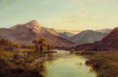 Fishermen and Cattle_Alfred de Breanski Snr