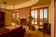 Our #Cedar #Shutter offers a modern appearance to any room of your home.