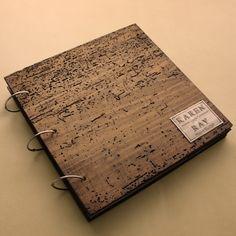 $169 Rustic Scrapbook Photo Album - Personalized Monogram and unique details by OurWeddingInvites on Etsy https://www.etsy.com/listing/168856907/rustic-scrapbook-photo-album