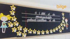 Bilge öğretmen I School, School Teacher, Preschool Door, Galaxy Theme, School Decorations, Teachers' Day, Alphabet Activities, School Projects, Classroom Decor