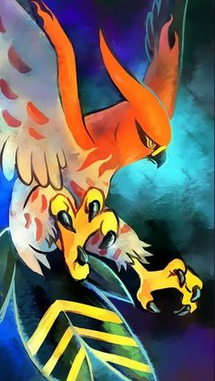 My Talonflame, Fletch: Fletch was one of the first pokemon I've ever had, we made it to the top and I loved seeing her evolutions from Fletchling to Talonflame. She's the #1 choice I'd use for a fire-type, and that's saying something! Fletch is also a Level 100, and she's always pumped up to battle anyone!
