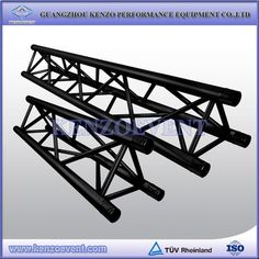 Black triangle truss we can used for hanging light and decoration
