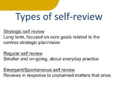 Image result for self Review ece quotes
