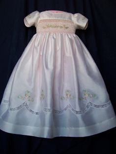 Wow. Would switch out the machine embroidery on the sleeve and skirt. Gorgeous.