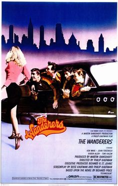 The Wanderers (1979) This film takes on the comedic side of early 60's street gangs in the Bronx. A great movie, surprisingly not many have heard of. Maybe overshadowed by The Warriors, also released in '79.