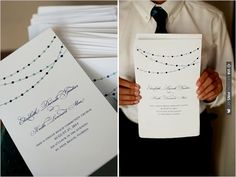 wedding programs | VIA #WEDDINGPINS.NET