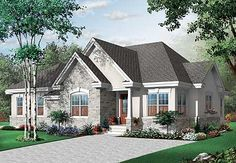 Home Plan with In-Law Suite