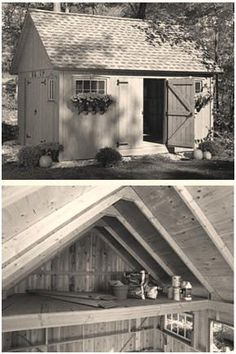 Free DIY 12x16 Multipurpose Shed and Loft Building Guide from Popular Mechanics Magazine