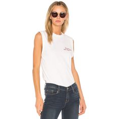 FRAME Denim Muscle Shirttail Tee (5.705 RUB) ❤ liked on Polyvore featuring tops, t-shirts, fashion tops, frame t shirt, cotton embroidered tops, curved hem t shirt, white top and cotton tee