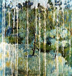 Larionov, Mikhail (1881-1964) - 1904 The Rain (Private Collection) by RasMarley, via Flickr