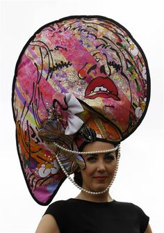 Would you wear this hat? Click through to see more. (Stefan Wermuth / Reuters)